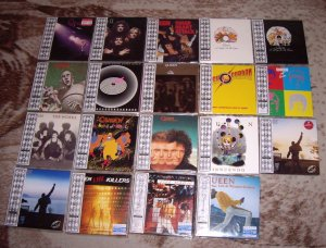 Ну и в догоночку решил выложить фотку всех релизов Queen в формате мини-лп. Производство Японии, 2004 год.