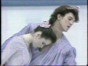 Олимпийские чемпионы - Наталья Мишкутенок и Артур Дмитриев.