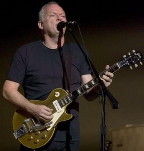 David Gilmour of Pink Floyd performs at Radio City Music Hall Tuesday, April 4, 2006 in New York. Gilmour's third solo album, 'On an Island,' his first in 22 years, is a collection of songs and instrumentals that had its origins in Gilmour's 2002 London Festival Hall concerts.
