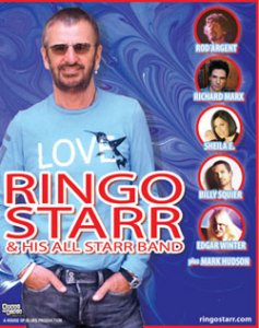 An ad for Ringo's upcoming 2006 All-Starr tour