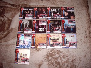 Вот прикупил несколько нужных мне японских картонок Роллинг Стоунз. Издание 2006 года, свежее, просто отличное. Звук точно такой же как на SACD (имею ввиду CD-слой) вышедших в 2002 году.