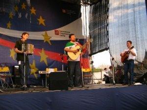 Вот группа, выступавшая перед Битвинами (представляла Ирландию):