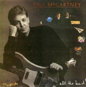 Journeyman куда-то делся, поэтому выложу сканы другого издания - All The Best Маккартни. Эта пластинка была выпущена небольшим тиражом.