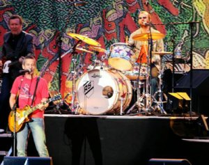 Ringo Starr bangs the drums during his performance at Wente Vineyards in Livermore on Tuesday, June 27th, 2006.