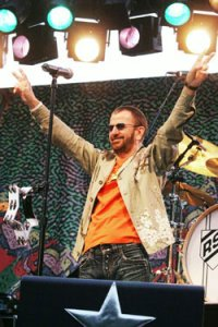 Ringo Starr performs at Wente Vineyards in Livermore on Tuesday, June 27th, 2006.