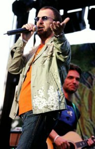 Ringo Starr performs along with Richard Marx (behind right) at Wente Vineyards in Livermore on Tuesday, June 27th, 2006.