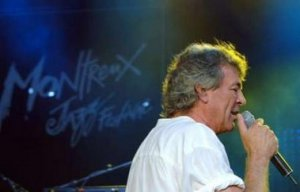 Singer Ian Gillian of the English rock band Deep Purple performs in the Auditorium Stravinski during the closing night of the 40th Montreux Jazz festival in Montreux July 15, 2006. Picture taken July 15, 2006.