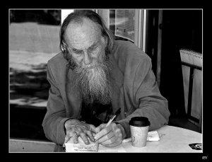 А пишу я тебе, дорогой брат Хрисанфов... как борода бороде... Все смешалось в доме...