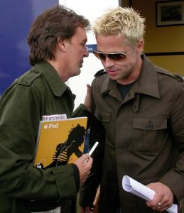 Пол и Бред Пит.