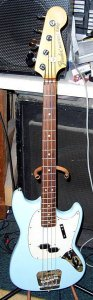 Fender 1966 American Mustang Bass Same model as Bill Wyman of The Rolling Stones used