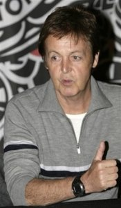 Paul McCartney Attends The Release Of His New DVD Space Within