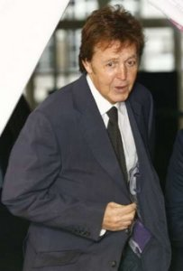 Paul McCartney Arrives For A Signing Session In London November 22 2006 Was