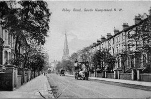 Abbey Road в начале двадцатого века..