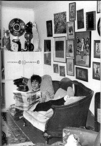 Кстати, этот рисуночек был видимо Олдриджем лично т.Леннону подарен. Насколько я понимаю.