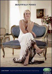 <-- Zara Phillips by Mary McCartney