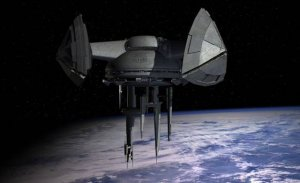 a vot nash orbitalni kosmoport, seichas vedetsya proekt!
