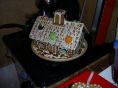 А вот и пряничный домик из сказки!