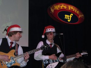 3.01.07 - Москва. Mezzo Forte. Beatles.RU представляет: New Year Party with East End, Dans Ramblers & The Beatween!