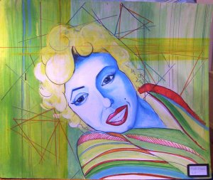 2004 г. Уже постила сюда, но всё же запостю ещё раз целиком. Картон, акриловые краски, маркеры. Примерно 1 м. в длину.