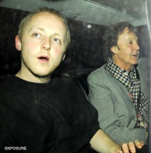 James and Paul are going to Cecconi's in Piccadilly for dinner. April 2007.