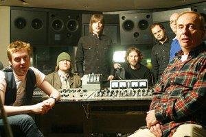The Kaiser Chiefs with Studio Engineer Geoff Emerick