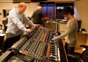 Jamie Cullum and engineer Geoff Emerick