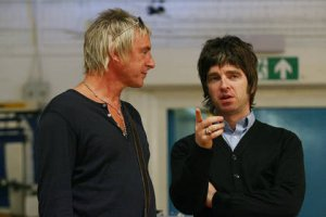 Noel Gallagher with Paul Weller