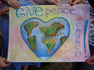 JUST GIVE PEACE A CHANCE...