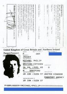 Ксерокс паспорта Мика. Номер я закрасил, в избежание...