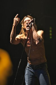 Концерт Iggy Pop & Stooges в Б1