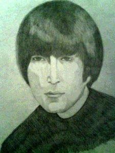 И ещё один рисунчек моего любимого битла!!!:)))))