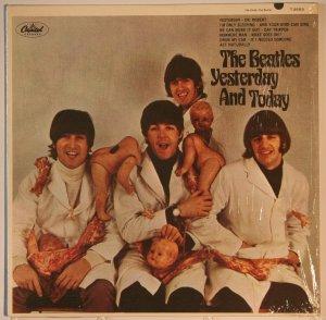 И первый альбом в этой теме - это Yesterday And Today, моно версия, Capitol T 2553, 15 июня 1966 года. Butcher cover 1th Stady in shrinkwrap!