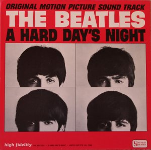Original Motion Picture Sound Track The Beatles A Hard Day's Nigth. United Artists UAL 3366. Промо копия. Мономикс.