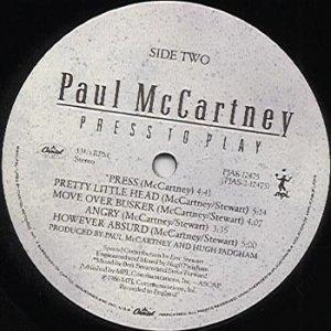 По поводу Press... Полностью согласен с VeeJayMan. Хочу лишь добавить, что в июле 1986 года в Штатах на лейбле Capitol B-5597 выходил еще SP с версией песни Press продолжительностью 3:35!