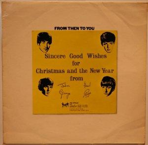А вот британский оригинальный Christmas Album - From Then To You, Apple (LYN.2153/2154), 1970.