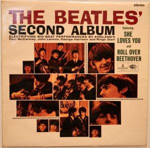 Британский экспорт: The Beatles' Second Album, CPCS 103, первый пресс. Матрица YEEX 110-49/YEEX 111-49.