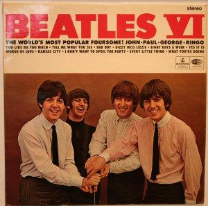 Продолжаем тему Британского экспорта: Beatles VI, CPCS 104, первый пресс, матрицы YEEX 112-A15 / YEEX 113-A15.