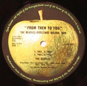 Яблоко Кристмас альбом, 1970 год.
