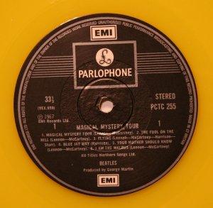 Продолжем: Magical Mystery Tour, британский экспорт, 1978 год, жёлтый винил.