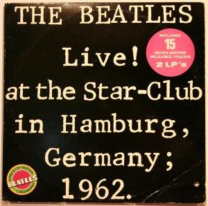 The Beatles Live! At The Star-Club In Hamburg, Germany; 1962. Альбом не редкий, но это промо копия.
