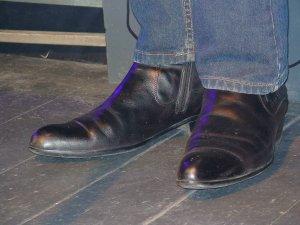 №235. 21-43-00. Грамотные и скромные, как и он сам, ботинки Мастера.