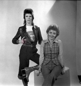David Bowie and Lulu..