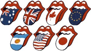 Assorted Flag Tongues