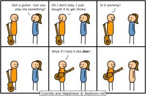 Не просто гитара....а ГИТАРА