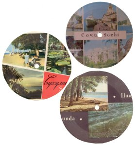 В 1967 году начался осуществляться переход со скорости 78 оборотов в минуту на 33 1/3. Эти звуковык письма стали более миниатютными и их уже начали изготавливать в виде почтовых открыток.