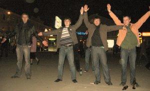 ...вчера на Новокузнецкой...