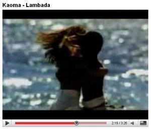 Kaoma - Lambada 1989 год  http://youtube.com/watch?v=5AfTl5Vg73A