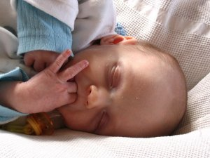 Why do babies suck their thumbs?