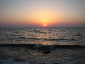 Закат солнца на Тарханкуте