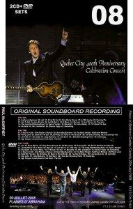 QUEBEC CITY 400th ANNIVERSARY CELEBRATION (2CD + DVD)